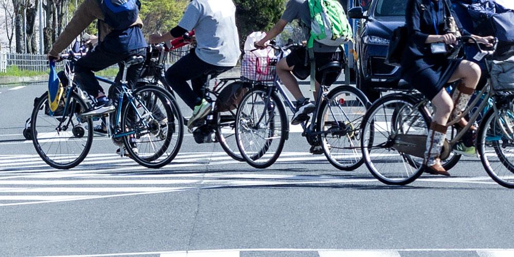 自転車利用者のイメージ